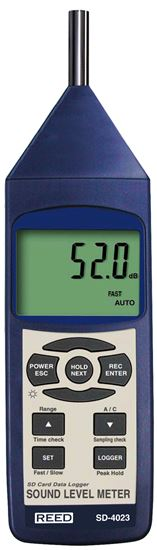 Picture of Reed SD-4023 Sound Level Meter with Datalogging New