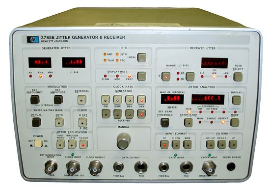Picture of Agilent/HP 3785B DS3/DS1 Jitter Generator and Receiver