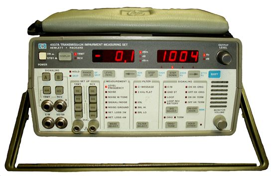 Picture of Agilent/HP 4937A Transmission Impairment Test Set with Signaling