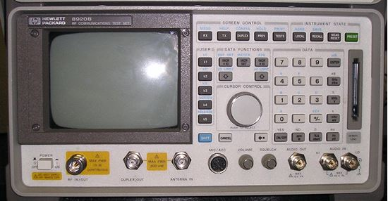 Picture of Agilent/HP 8920B ,RF Communication Test Set , w/83206A TDMA Cellular Adapter