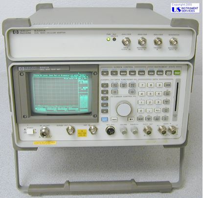 Picture of Agilent/HP 8921A Cell Site Test Set w/83201A Dual Mode Cellular Adapter