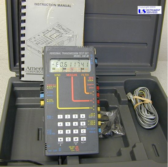 Picture of Ameritec AM-48 Personal Transmission Test Set TIMS