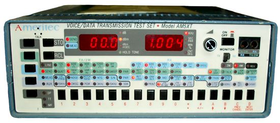 Picture of Ameritec AM5XT Voice/Data Transmission Test Set