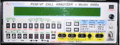 Picture of Ameritec AM8A T1 PCM / VF Signaling Analyzer