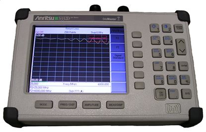 Picture of Anritsu S332D Sitemaster Antenna and Cable Analyzer