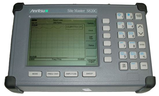 Picture of Anritsu S820C Sitemaster 3.3GHz to 20GHz Cable and Antenna Analyzer
