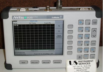 Picture of Anritsu S820D Sitemaster 2MHz to 20GHz