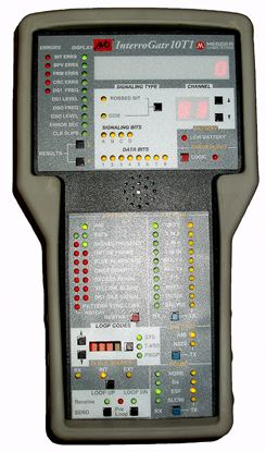 Picture of Avo/Megger InterroGatr 10T1 Handheld Portable T1 Test Set
