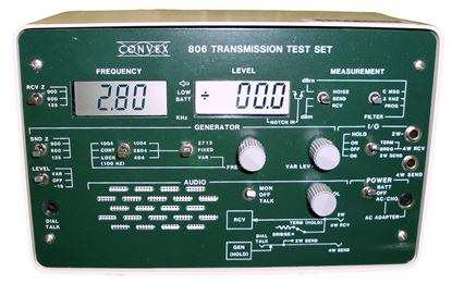 Picture of Convex 806 Transmission Test