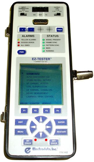 Picture of Electrodata EZ-TESTER Single or Dual T1 DDS Test Set
