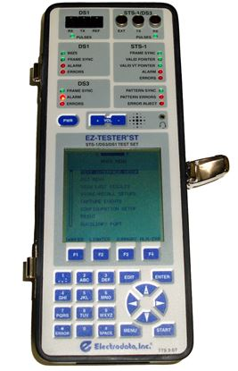 Picture of Electrodata EZ-TESTER ST T1, DS3, STS-1 SONET Test Set