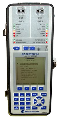 Picture of Electrodata TTS-3-QJ Single DS1 Test Set