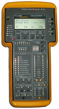 Picture of Fluke 635A Handheld T1/DS1 Test Set