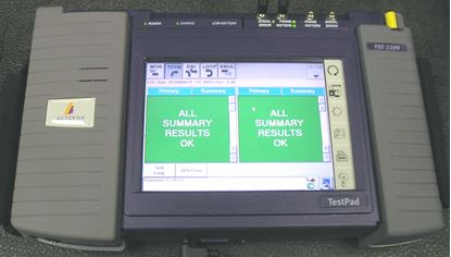 Picture of JDSU/Acterna T-BERD 2209 DS1/DS3 Test Pad+options
