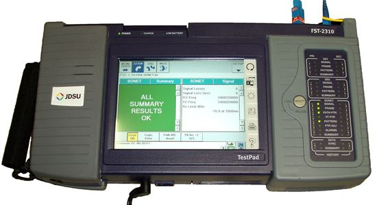 Picture of JDSU Acterna FST-2310 DS1 to OC-48 ATM SDH Network Test Set