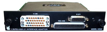 Picture of JDSU/Acterna/TTC 42522 V.35/RS-449/X.21 Interface Adapter