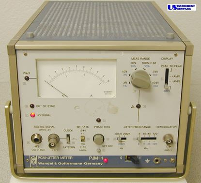 Picture of Wandel and Goltermann PJM-1 , PCM Jitter Meter