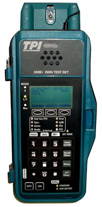Picture of JDSU/Acterna TPI 550B+ ISDN BRI Service Tester with options