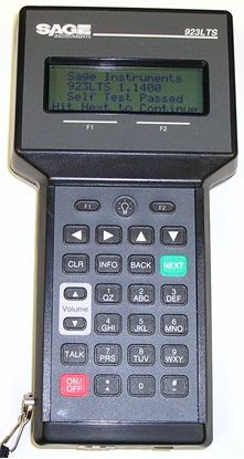 Picture of Sage 923LTS Handheld Automated Loop Test System