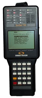 Picture of Sunrise Telecom T10 Handheld T1 Test Set+Options