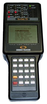Picture of Sunrise Telecom Sunset T3 DS3 Handheld Test Set plus Options