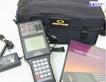 Picture of SUNRISE TELECOM T3+options