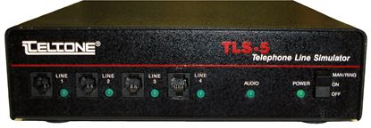 Picture of Teltone TLS-5 Telephone Line Simulator