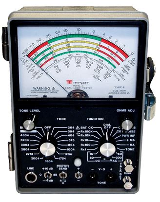 Picture of Triplett Model 4 Analog Local Loop Tester