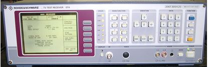 Picture of Rhode & Schwarz EFA DVB-C TV Test Receiver
