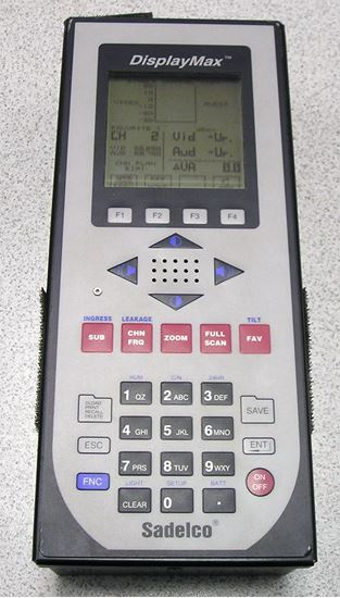 Picture of Sadelco Displaymax 800CLI Cable Television Analyzer