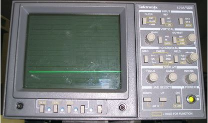 Picture of Tektronix 1735 PAL/NTSC Dual Standard Analog Waveform Monitors