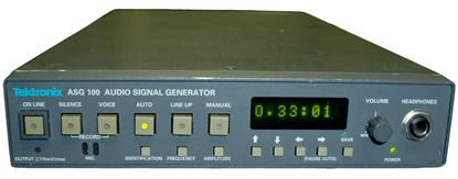 Picture of Tektronix ASG100 Television Audio Signal Generator