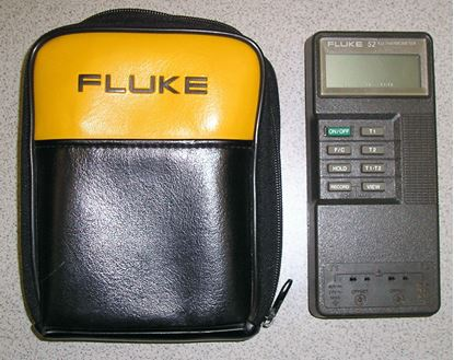 Picture of Fluke 52 Digital Thermometer