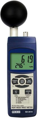 Picture of Reed SD-2010 Heat Stress Meter with Datalogging New