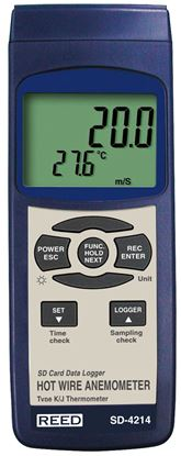 Picture of Reed SD-4214 Thermo-Anemometer with Datalogging New