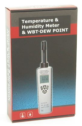 Picture of CEM DT-321 Temperature and Humidity Meter