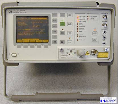 Picture of Agilent/HP 37704A Sonet Test Set w/37776A 622Mb I/F
