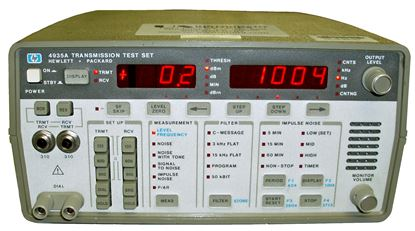 Picture of Agilent/HP 4935A Transmission Test Set
