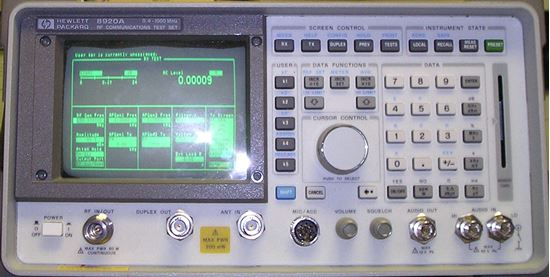 Picture of Agilent/HP 8920A Service Monitor
