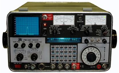Picture of Aeroflex/IFR FM/AM-1200S 1 GHz Service Monitor