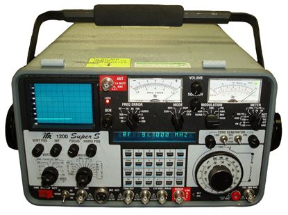 Picture of Aeroflex/IFR FM/AM-1200SS Super S 1 GHz Service Monitor