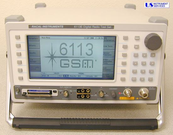 US-Instrument Services  Racal 6113E GSM ,Digital Radio Test Set
