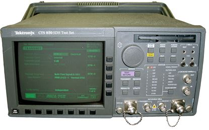 Picture of Tektronix CTS850 SDH/PDH and Jitter/Wander Test Set