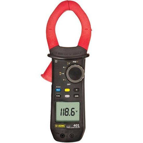 Picture of AEMC 401 CAT IV, 1000V AC/DC True RMS Clamp-On Meter