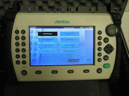 Picture of Anritsu MT9083A2-VZW Quad OTDR kit for Verizon Tower Testing